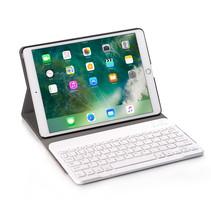 iPad 10.2 inch (2019) Case - Bluetooth toetsenbord hoes - Roze