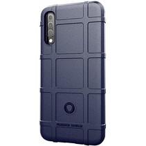 Samsung Galaxy A30s hoesje - Heavy Armor TPU Bumper - Blauw