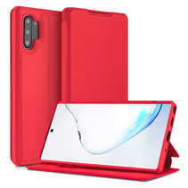 Samsung Galaxy Note 10 Plus hoes - Dux Ducis Skin X Case - Rood