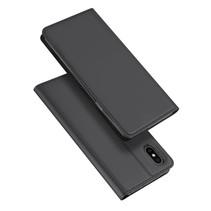 iPhone X hoesje - Dux Ducis Skin Pro Book Case - Grijs