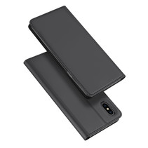 iPhone XS hoesje - Dux Ducis Skin Pro Book Case - Zwart