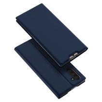 Samsung Galaxy Note 10 hoesje - Dux Ducis Skin Pro Book Case - Blauw