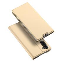 Samsung Galaxy Note 10 hoesje - Dux Ducis Skin Pro Book Case - Goud