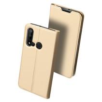 Huawei P20 Lite (2019) hoesje - Dux Ducis Skin Pro Book Case - Goud