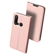 Huawei P20 Lite (2019) hoesje - Dux Ducis Skin Pro Book Case - Rosé-Goud