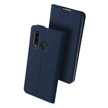 Huawei P30 Lite hoesje - Dux Ducis Skin Pro Book Case - Blauw