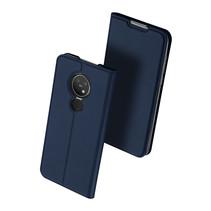 Nokia 7.2 hoesje - Dux Ducis Skin Pro Book Case - Blauw