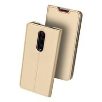 Xiaomi Mi 9t hoesje - Dux Ducis Skin Pro Book Case - Goud