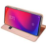 Dux Ducis Xiaomi Mi 9t hoesje - Dux Ducis Skin Pro Book Case - Rosé-Goud
