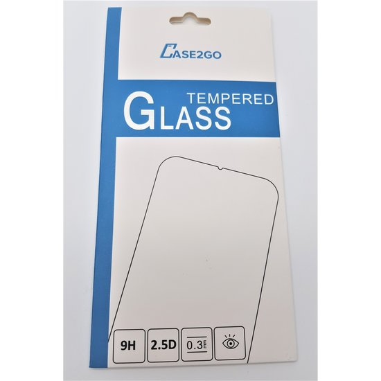 Case2go Xiaomi MI 9T - Tempered Glass Screenprotector - Case Friendly