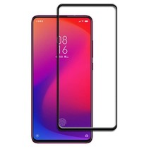 Xiaomi Mi 9T - Full Cover Screenprotector - Zwart