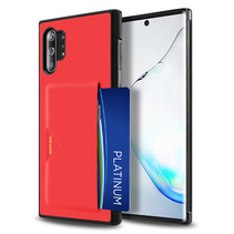 Dux Ducis - Samsung Galaxy Note 10 Plus Hoesje - Pocard Series - Back Cover - Rood