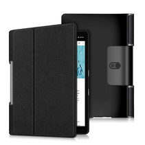 Lenovo Yoga Smart Tab 10.1 hoes - Tri-Fold Book Case - Zwart