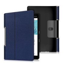 Lenovo Yoga Smart Tab 10.1 hoes - Tri-Fold Book Case - Donker Blauw