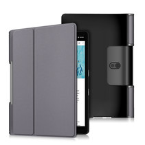 Lenovo Yoga Smart Tab 10.1 hoes - Tri-Fold Book Case - Grijs