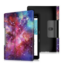 Lenovo Yoga Smart Tab 10.1 hoes - Tri-Fold Book Case - Galaxy