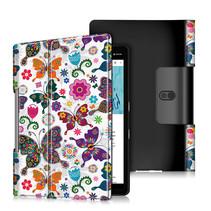 Lenovo Yoga Smart Tab 10.1 hoes - Tri-Fold Book Case - Vlinders