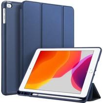 Dux Ducis Osom Bookcase iPad 10.2 2019 / 2020 / 2021 tablethoes - Donker Blauw