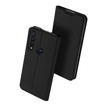 Motorola Moto G8 Plus hoesje - Dux Ducis Skin Pro Book Case - Zwart