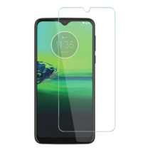 Motorola Moto G8 Plus - Tempered Glass Screenprotector - Case Friendly
