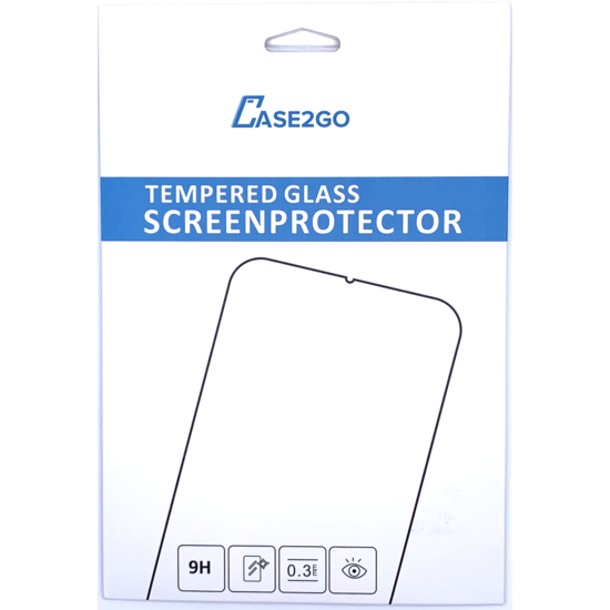 Case2go iPad 10.2 inch (2019) hoes - Active Stylus Pen - Screenprotector - Licht Blauw