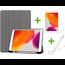 Case2go iPad 10.2 inch (2019) hoes - Active Stylus Pen - Screenprotector - Grijs