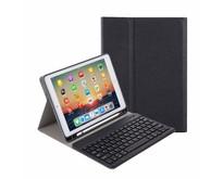 iPad 10.2 inch 2019 / 2020 Toetsenbord Hoes - Keyboard Case met Stylus Pen Houder -Zwart