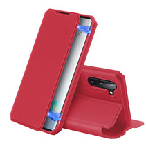 Samsung Galaxy Note 10 hoes - Dux Ducis Skin X Case - Rood