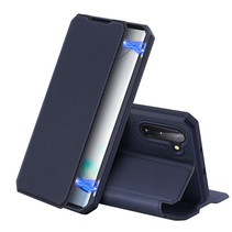 Samsung Galaxy Note 10 hoes - Dux Ducis Skin X Case - Donker Blauw