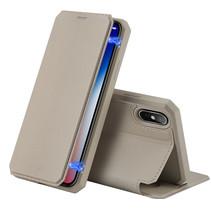 iPhone XS Max hoes - Dux Ducis Skin X Case - Goud