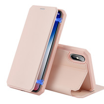 iPhone XS Max hoes - Dux Ducis Skin X Case - Roze