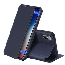 iPhone XS Max hoes - Dux Ducis Skin X Case - Donker Blauw