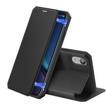 iPhone XR hoes - Dux Ducis Skin X Case - Zwart