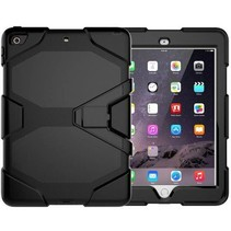 iPad 10.2 inch 2019 / 2020 hoes - Extreme Armor Case - Zwart