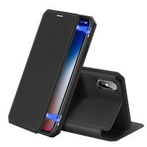 iPhone XS hoes - Dux Ducis Skin X Case - Zwart