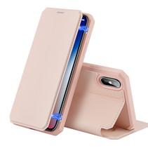 iPhone XS hoes - Dux Ducis Skin X Case - Roze