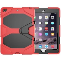 iPad 10.2 inch 2019 / 2020 hoes - Extreme Armor Case - Rood
