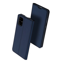 Samsung Galaxy A51 hoesje - Dux Ducis Skin Pro Book Case - Donker Blauw