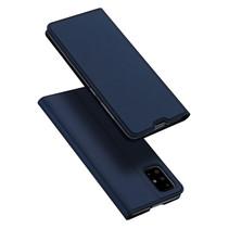 Samsung Galaxy A71 hoesje - Dux Ducis Skin Pro Book Case - Blauw