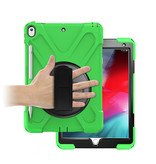 Case2go iPad Pro 10.5 (2017) Cover - Hand Strap Armor Case - Green