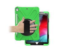 iPad Pro 10.5 (2017) Cover - Hand Strap Armor Case - Green