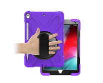 iPad Pro 10.5 (2017) Cover - Hand Strap Armor Case - Paars