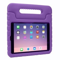 iPad 10.2 2019 / 2020 hoes - Schokbestendige case met handvat - Paars