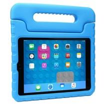 iPad 10.2 2019 / 2020 hoes - Schokbestendige case met handvat - Blauw