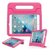 iPad Mini 5 (2019) hoes - Schokbestendige case met handvat - Magenta