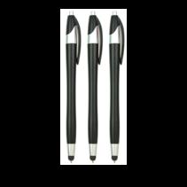 3 stuks - Styluspennen voor tablet en smartphone - Zwart
