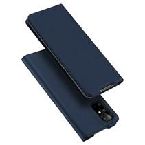 Samsung Galaxy S20 Plus hoesje - Dux Ducis Skin Pro Book Case - Donker Blauw
