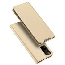 Samsung Galaxy S11 hoesje - Dux Ducis Skin Pro Book Case - Goud