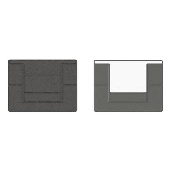 Case2go Macbook / Laptop Standaard - Zelfklevend opvouwbare laptop standaard - Bruin / Goud