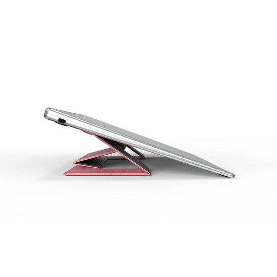 Case2go Macbook / Laptop Standaard - Zelfklevend opvouwbare laptop standaard - Roze